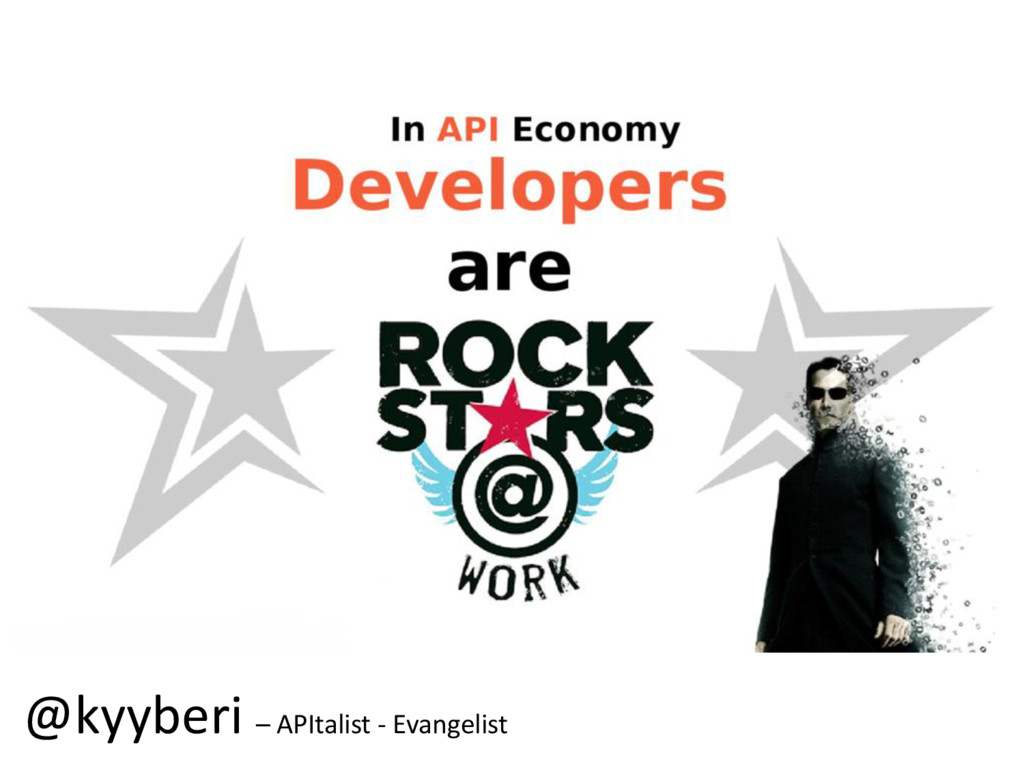 @kyyberi – APItalist - Evangelist
