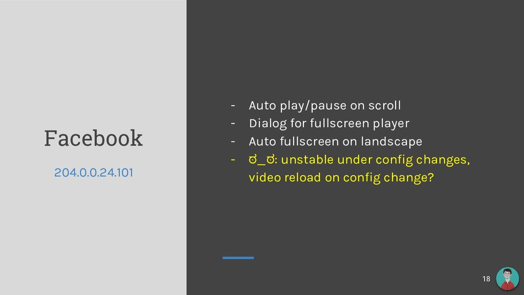 Facebook - Auto play/pause on scroll - Dialog f...