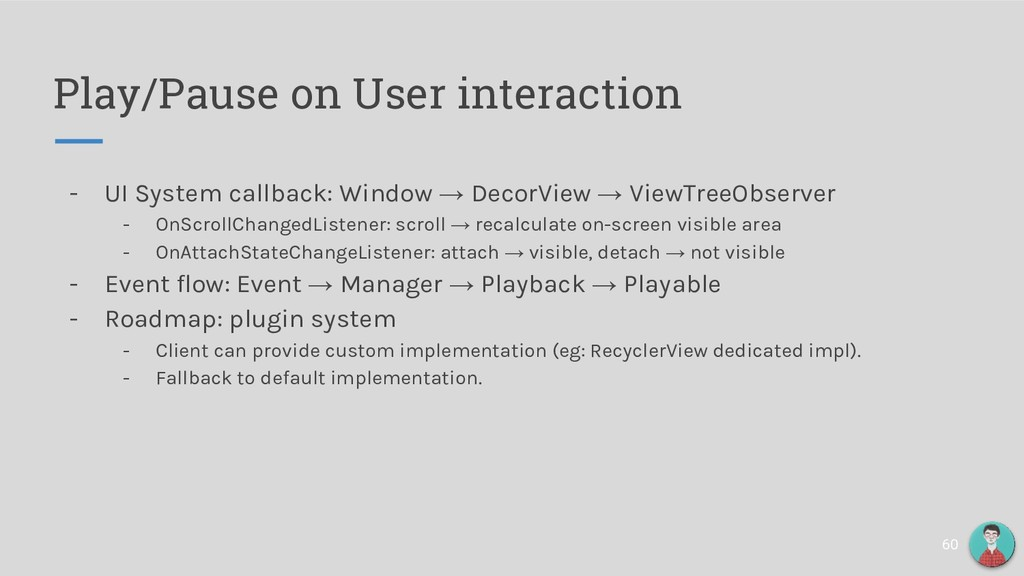 Play/Pause on User interaction 60 - UI System c...