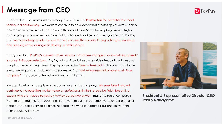 Becoming the No.1 Fintech company!