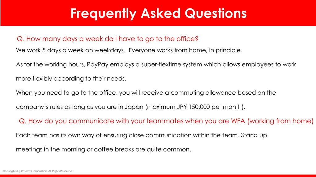 Frequently Asked Questions Photo Q. How many da...