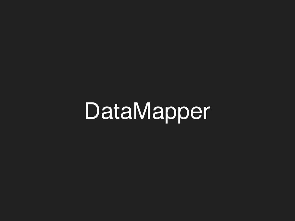 DataMapper