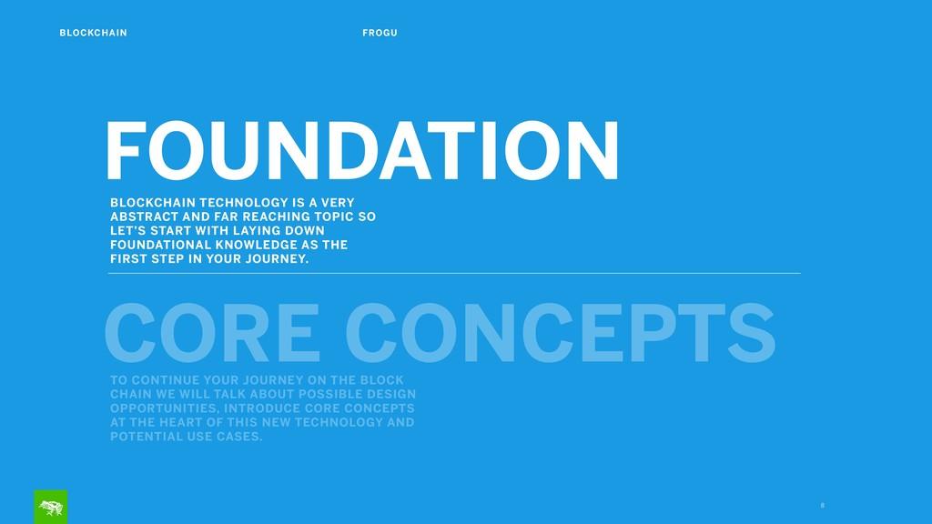 8 FOUNDATION CORE CONCEPTS BLOCKCHAIN TECHNOLOG...