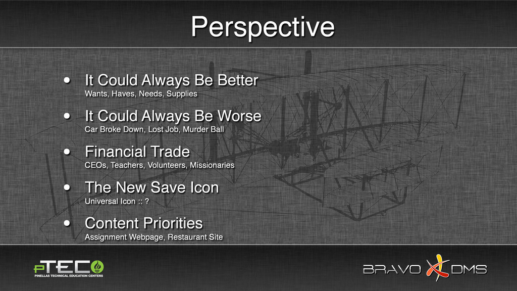BRAVO DMS BRAVO DMS Perspective • It Could Alwa...