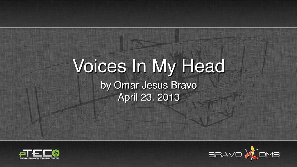 BRAVO DMS BRAVO DMS by Omar Jesus Bravo April 2...