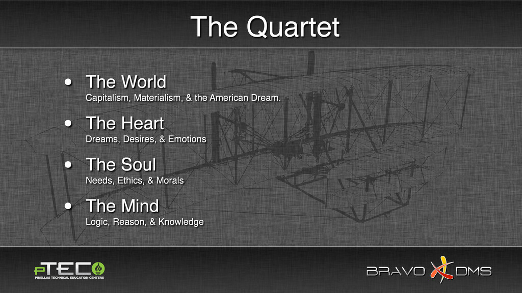 BRAVO DMS BRAVO DMS The Quartet • The World Cap...