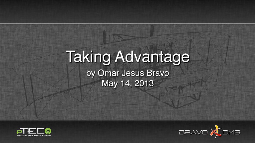 BRAVO DMS BRAVO DMS by Omar Jesus Bravo May 14,...