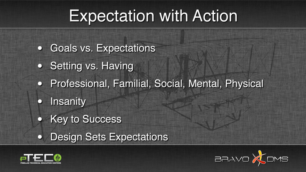 BRAVO DMS BRAVO DMS Expectation with Action • G...