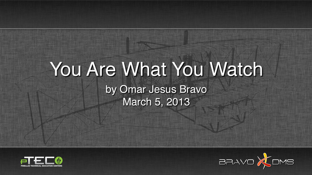BRAVO DMS BRAVO DMS by Omar Jesus Bravo March 5...