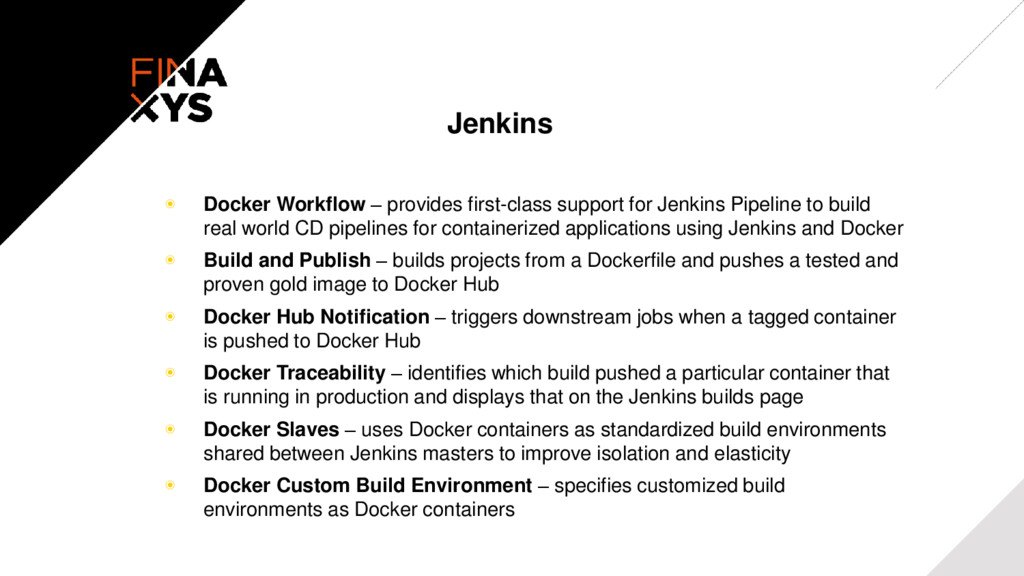 Jenkins ◉ Docker Workflow – provides first-clas...