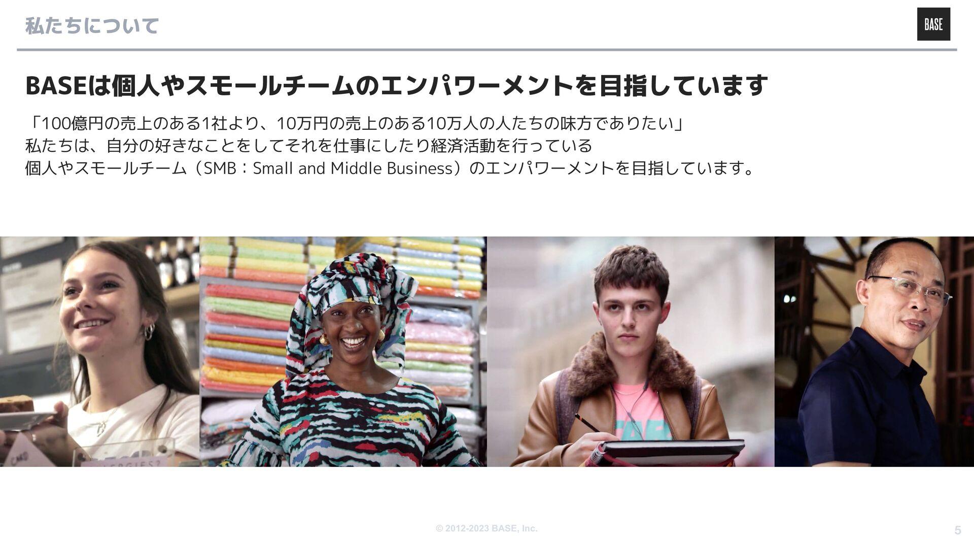 © 2012-2020 BASE, Inc. 5 プロダクト・事業 について