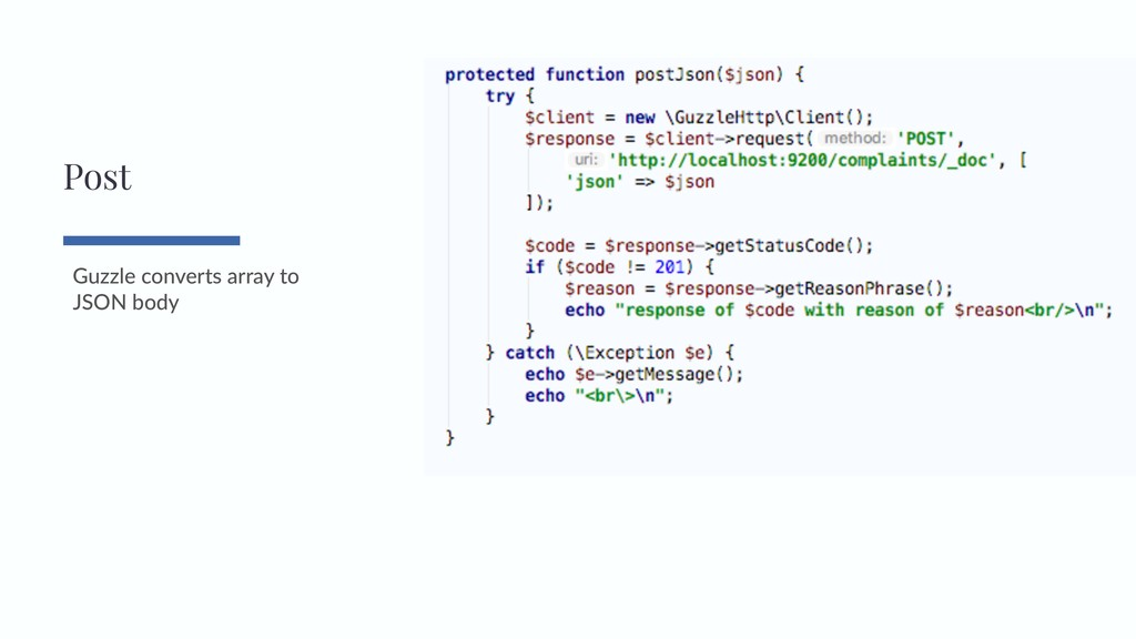 Guzzle converts array to JSON body Post