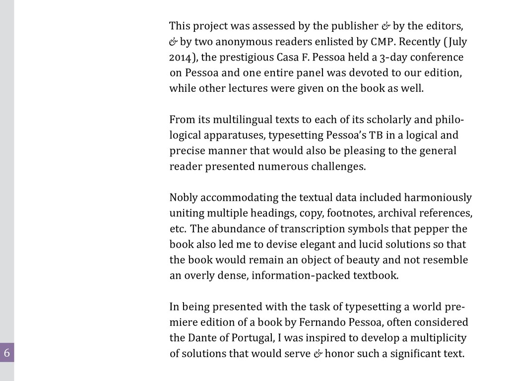 6 This project was assessed by the publisher & ...