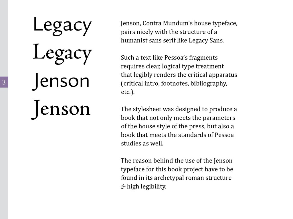 3 Legacy Legacy Jenson Jenson Jenson, Contra Mu...