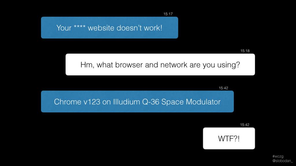#wczg @slobodan_ Chrome v123 on Illudium Q-36 ...