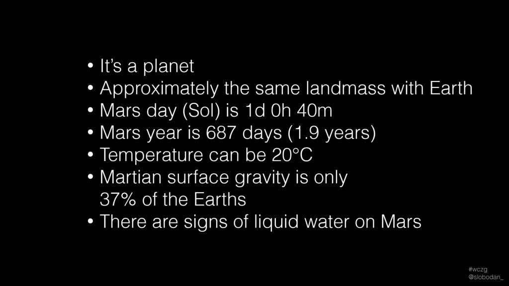 #wczg @slobodan_ • It's a planet • Approximate...