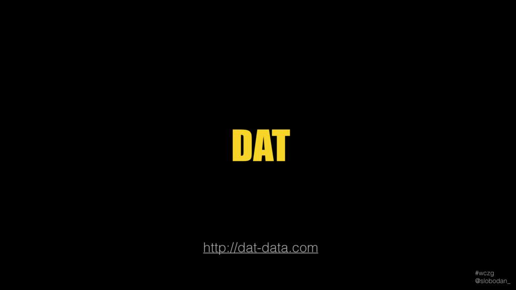 #wczg @slobodan_ http://dat-data.com DAT
