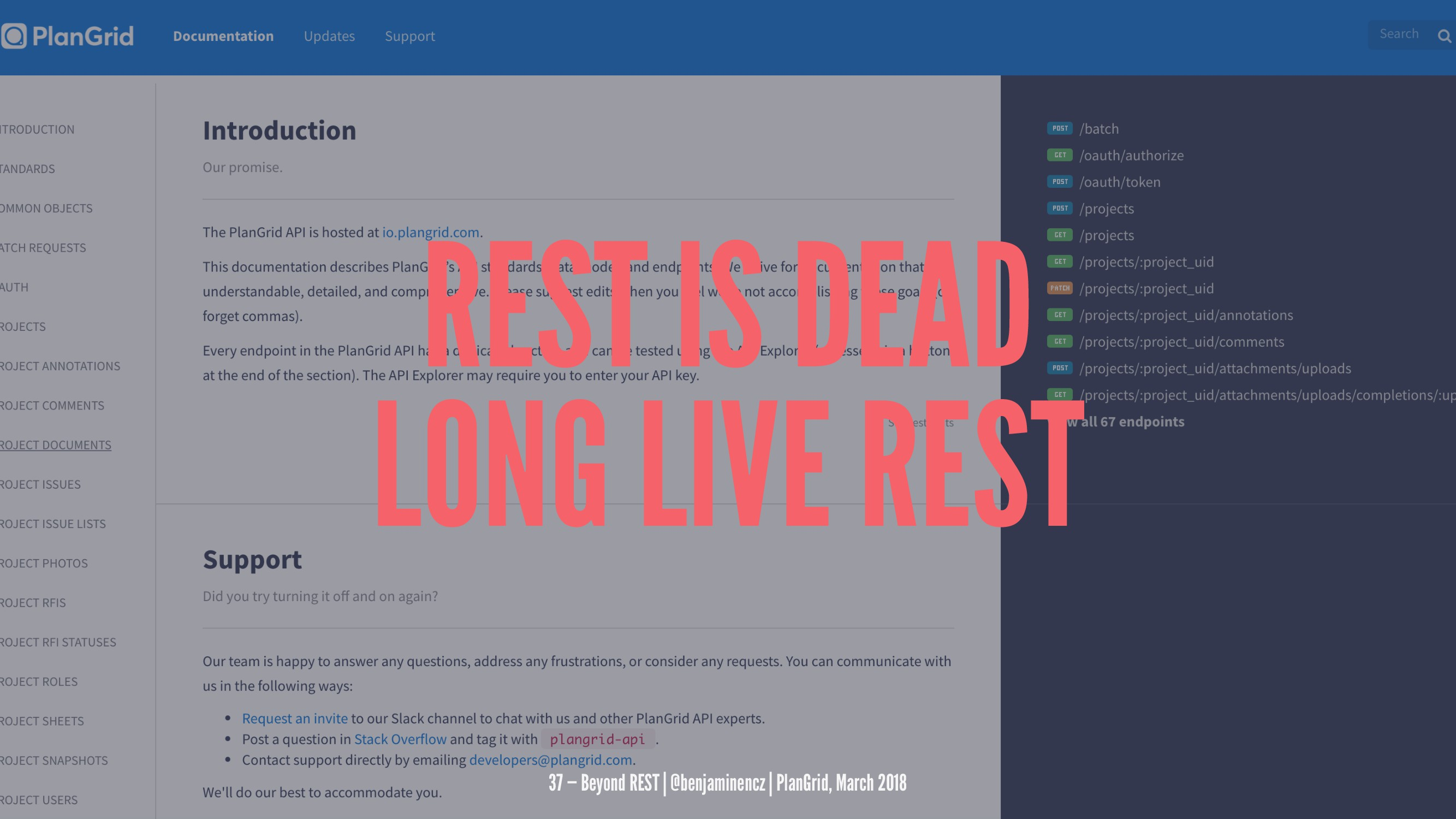 REST IS DEAD LONG LIVE REST 37 — Beyond REST | ...