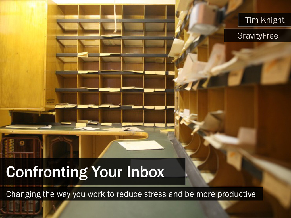 Confronting Your Inbox Changing the way you wor...