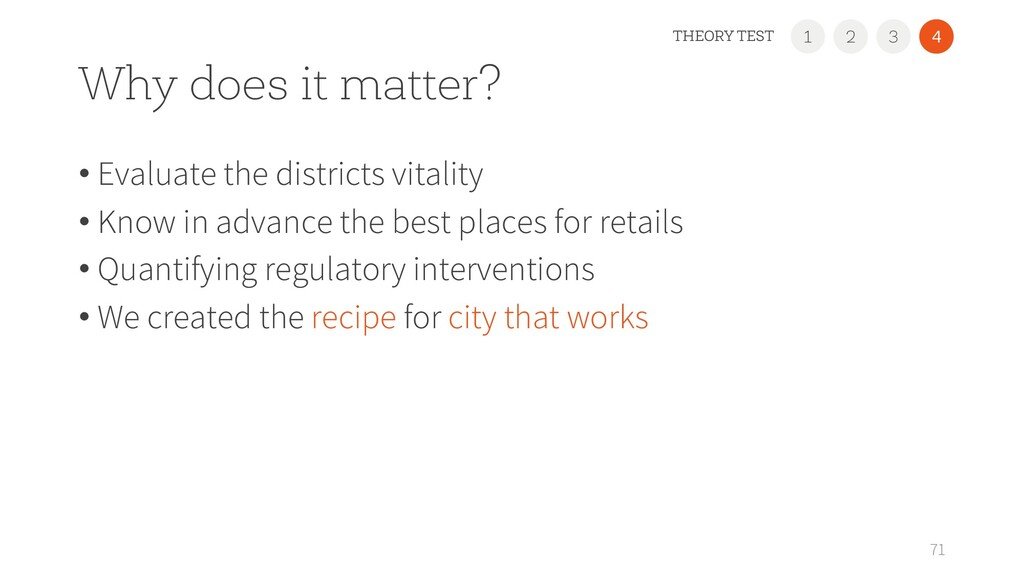 Why does it matter? • Evaluate the districts vi...