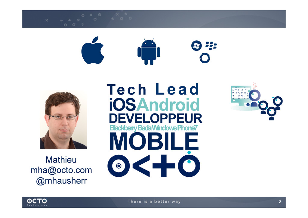 2   DEVELOPPEUR MOBILE iOS Android Blackberry...