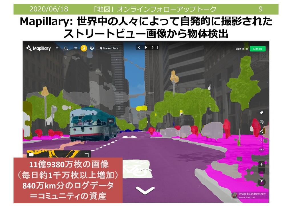 2020/06/18 「地図」オンラインフォローアップトーク 9 9 Mapillary: 世...