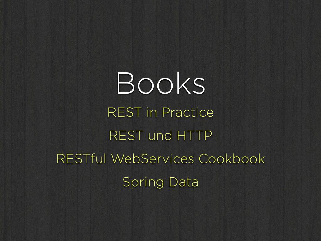 Books REST in Practice REST und HTTP RESTful We...