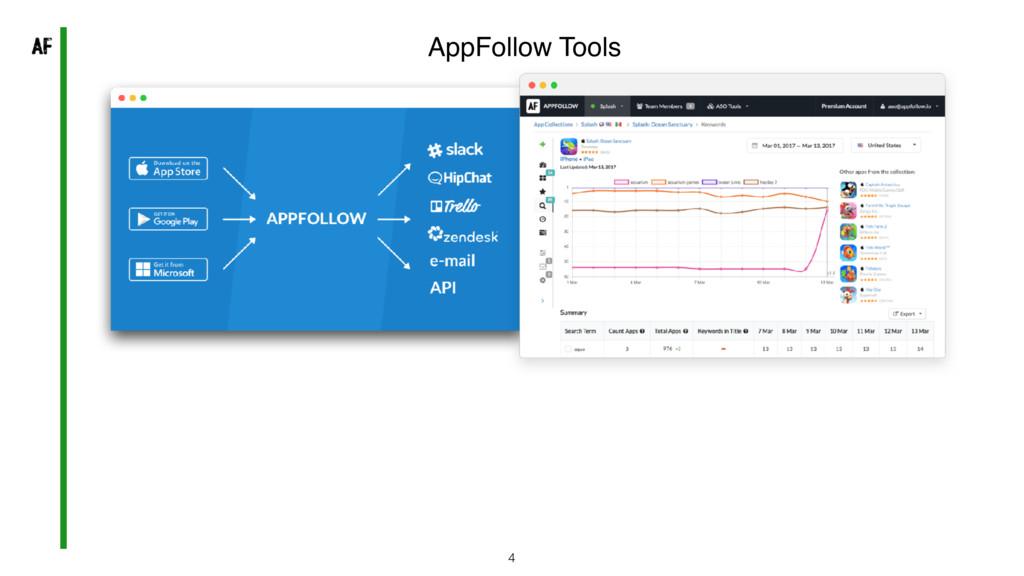 4 AppFollow Tools