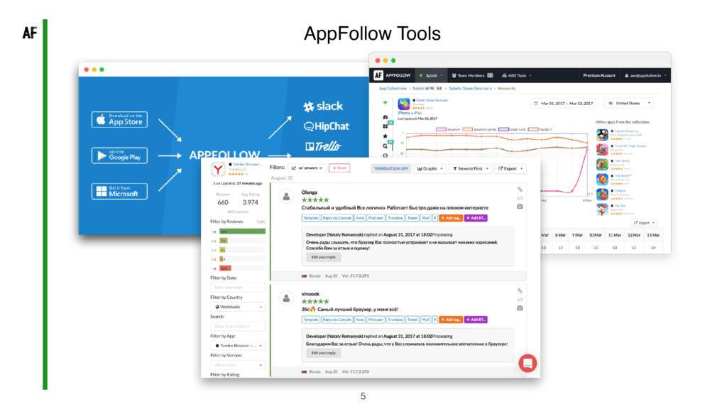 5 AppFollow Tools