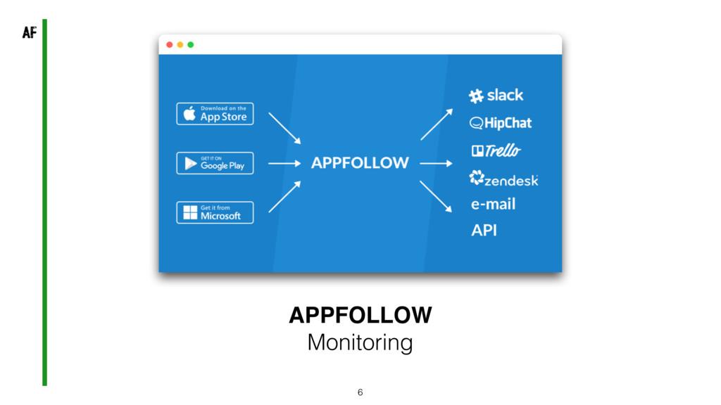 6 APPFOLLOW Monitoring