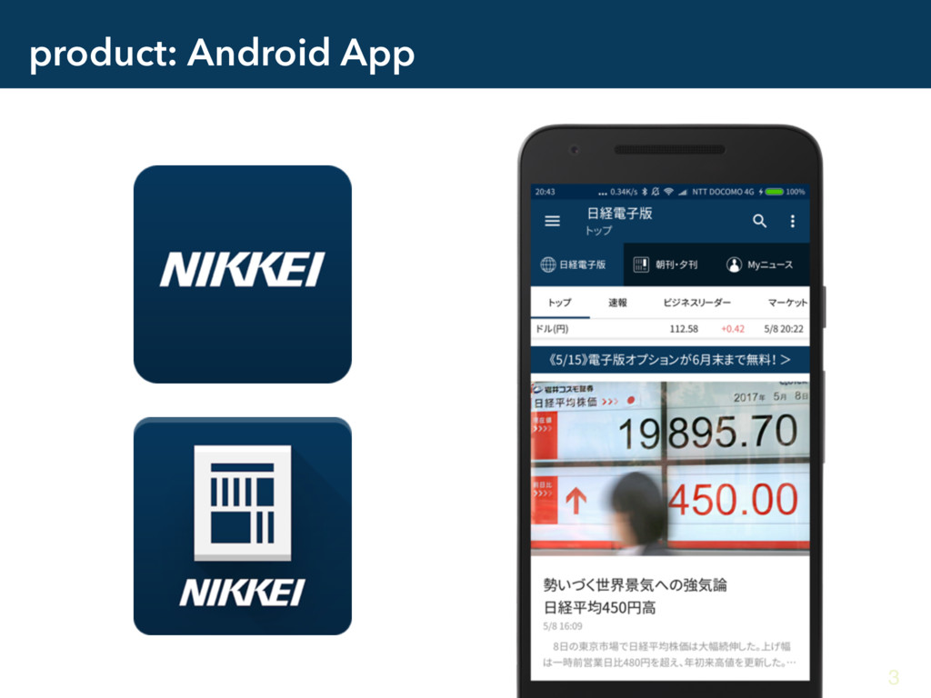 product: Android App 3