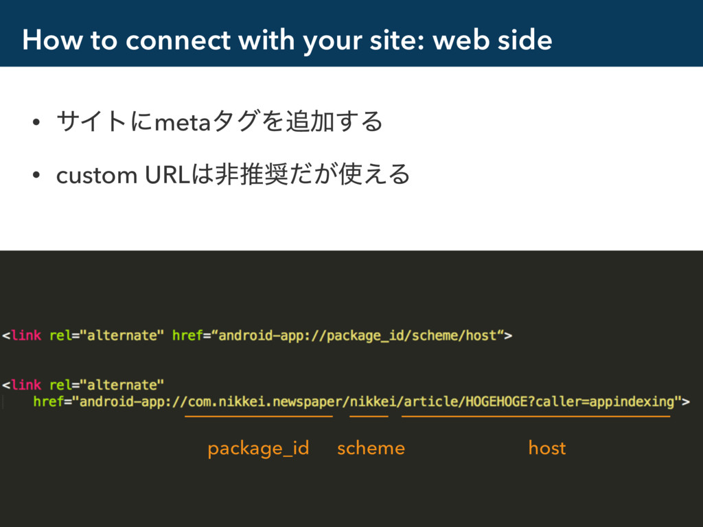 How to connect with your site: web side • αΠτʹm...
