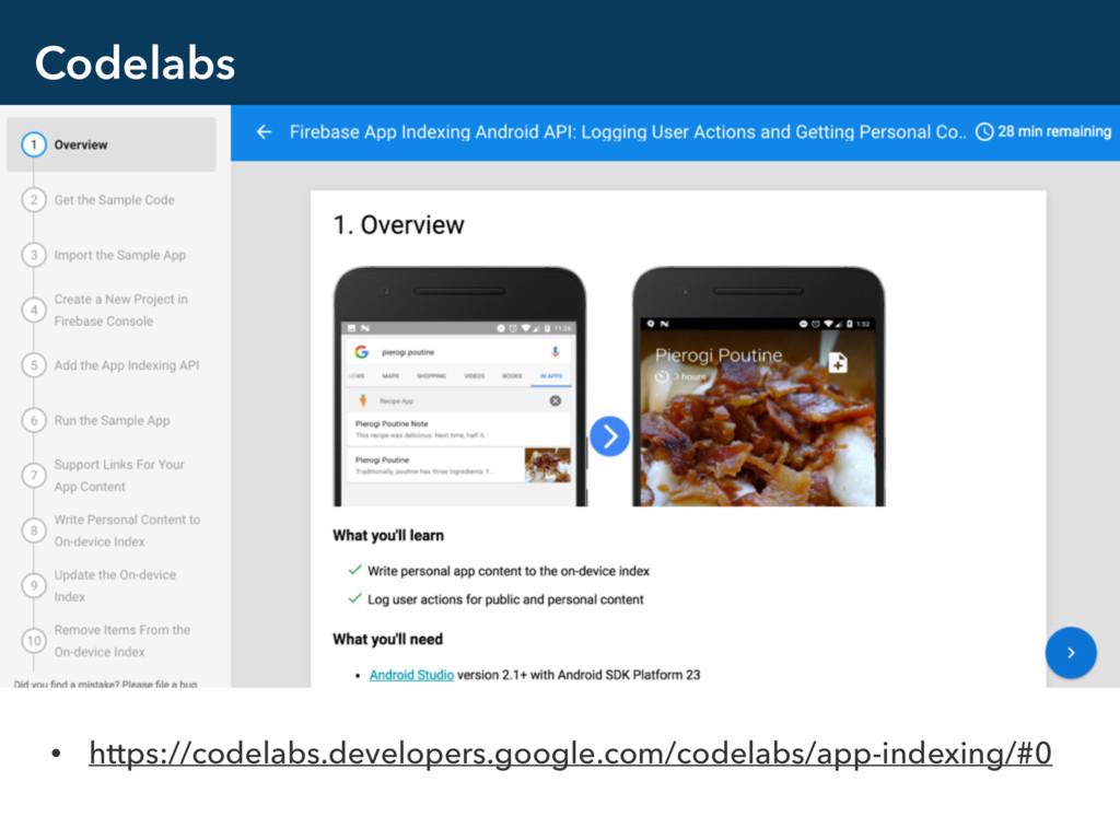Codelabs • https://codelabs.developers.google.c...