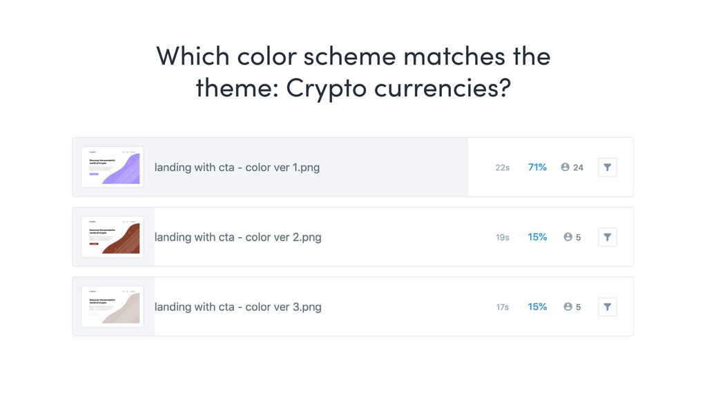 Which color scheme matches the theme: Crypto cu...