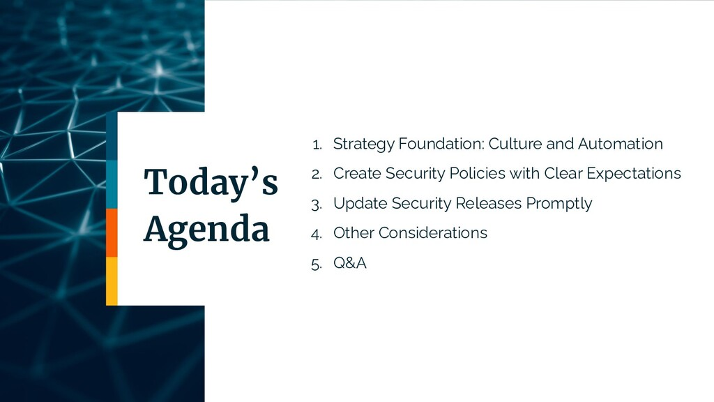 1. Strategy Foundation: Culture and Automation ...