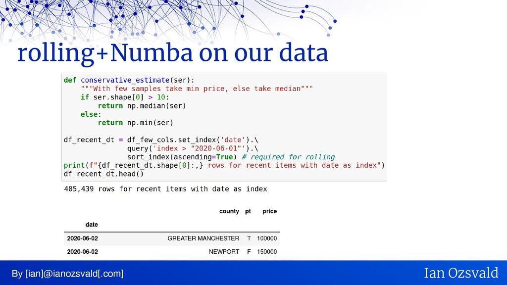 rolling+Numba on our data By [ian]@ianozsvald[....