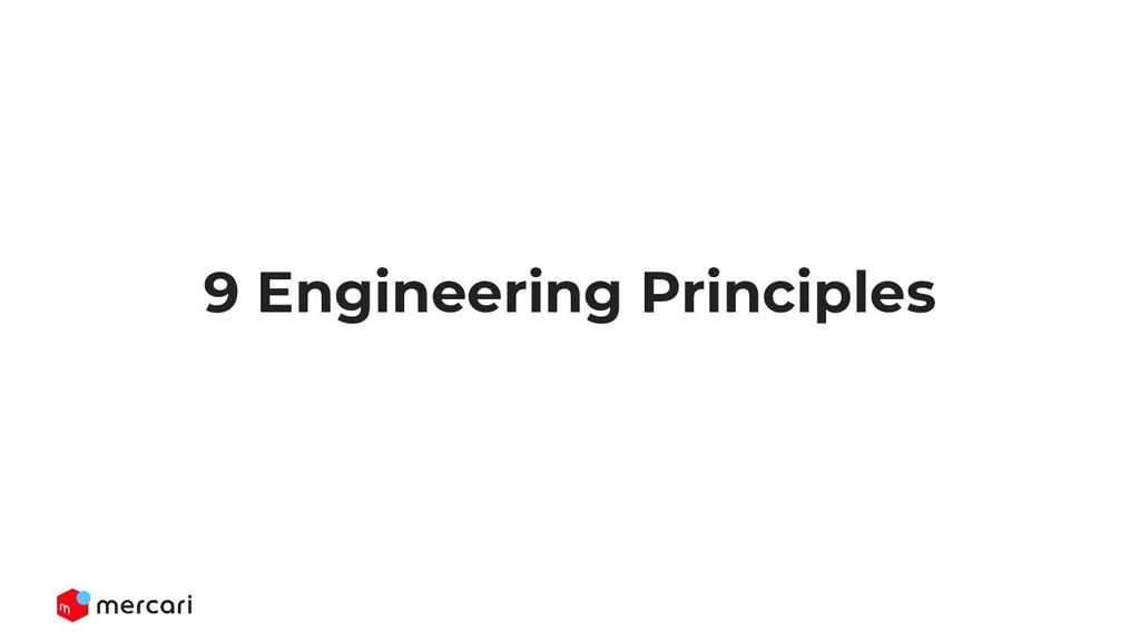 9 Engineering Principles