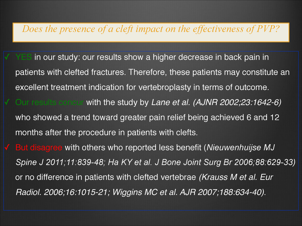 ✓ YES in our study: our results show a higher d...