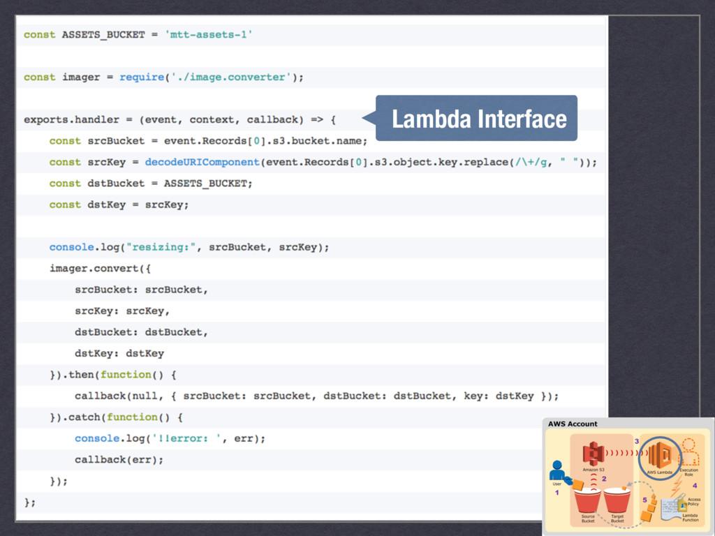 Lambda Interface