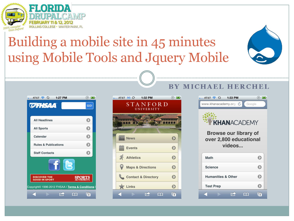 Building a mobile site in 45 minutes using Mobi...