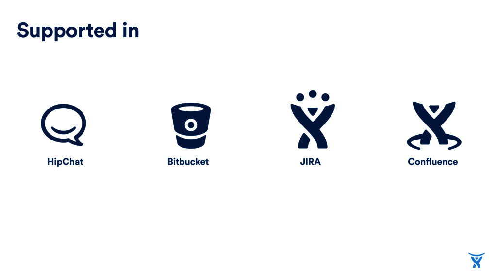 Confluence Bitbucket HipChat Supported in JIRA