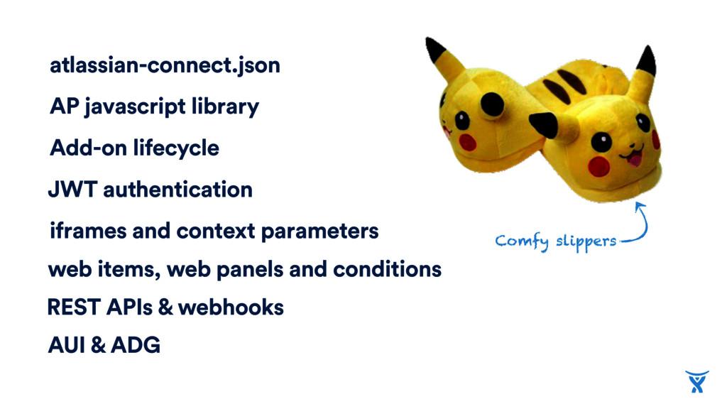 atlassian-connect.json AP javascript library Ad...