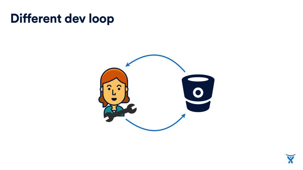 Different dev loop
