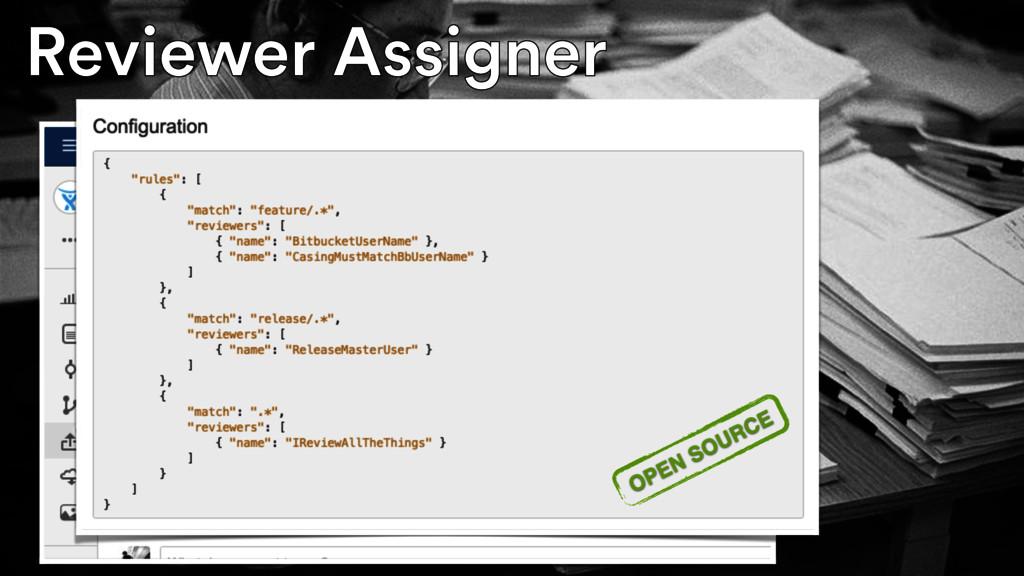 Reviewer Assigner Reviewer Assigner OPEN SOURCE