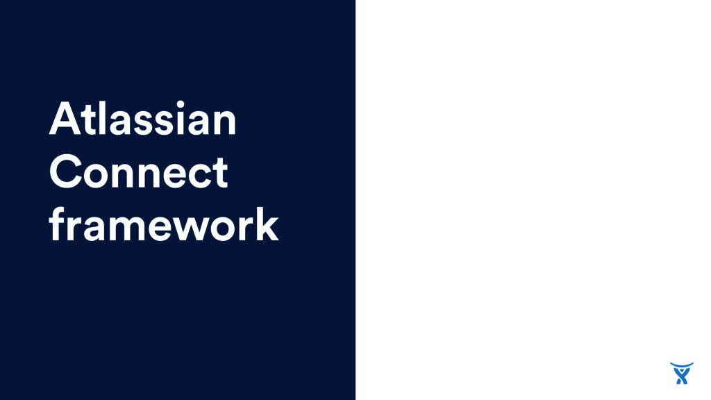 Atlassian Connect framework