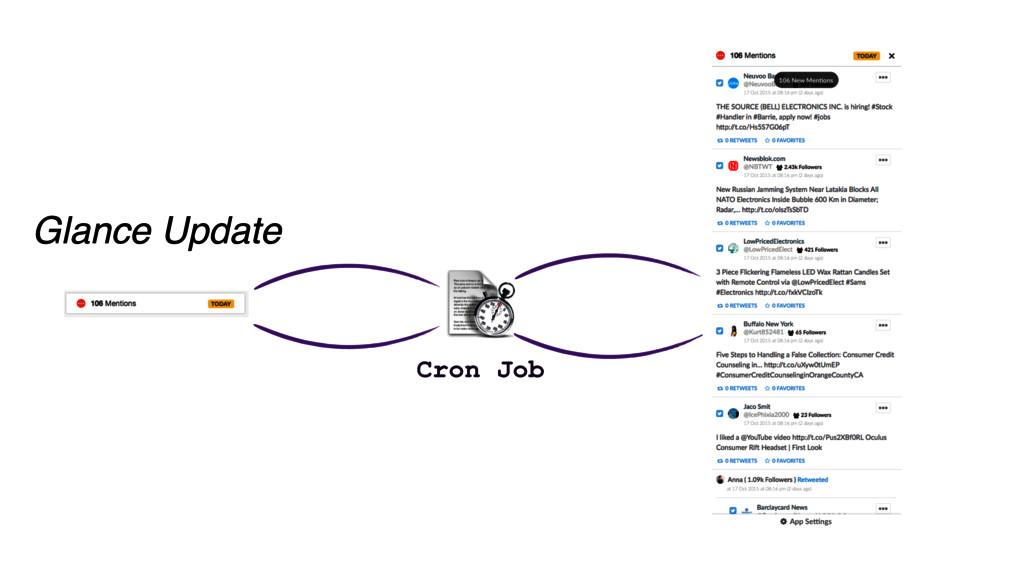 Glance Update Cron Job
