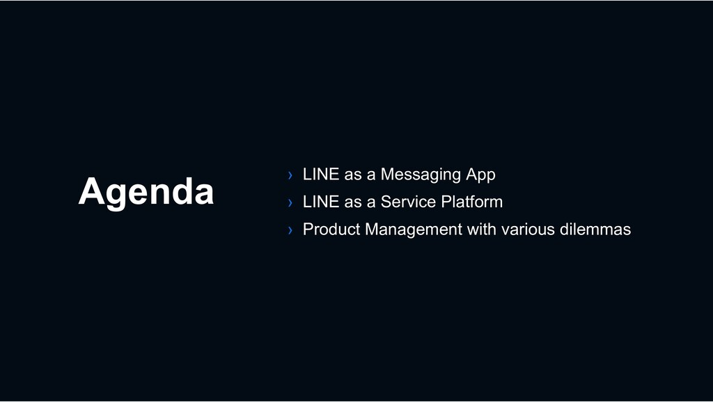 Agenda › LINE as a Messaging App › LINE as a Se...