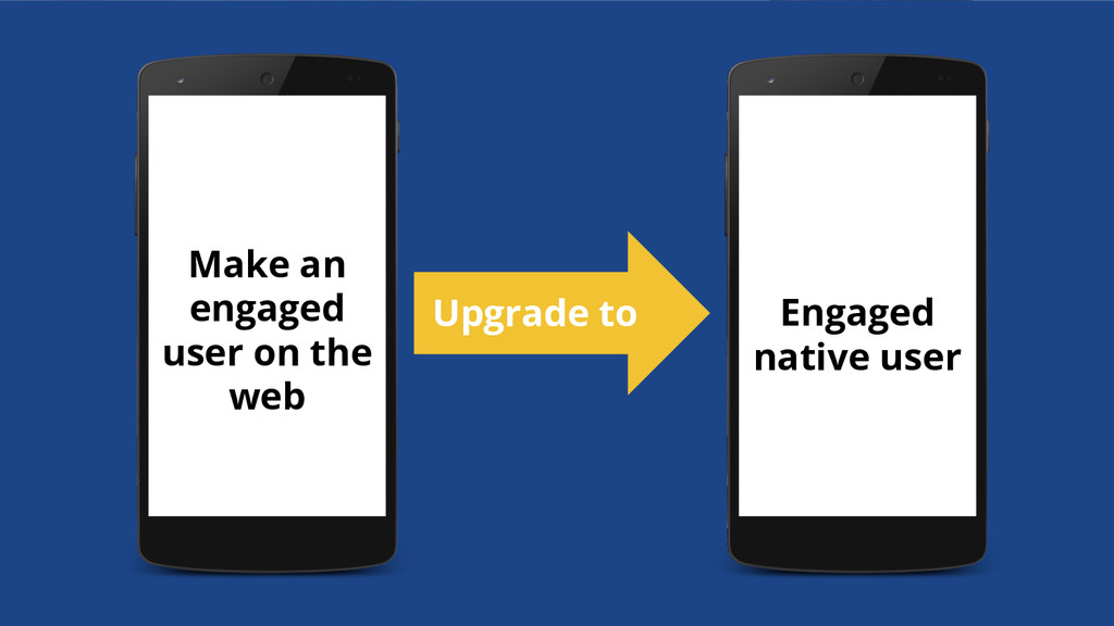 Make an engaged user on the web Engaged native ...