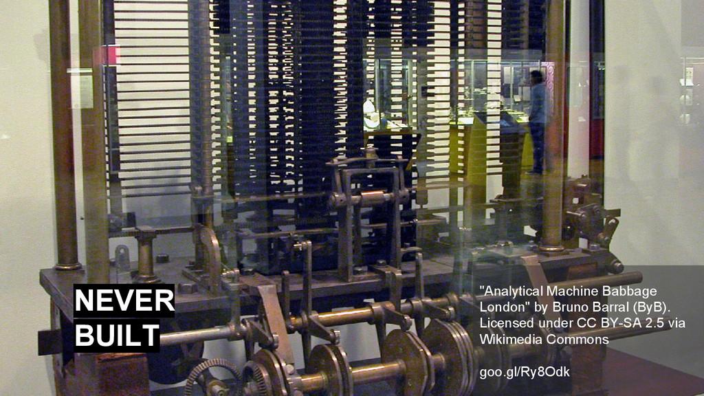 """Analytical Machine Babbage London"" by Bruno Ba..."