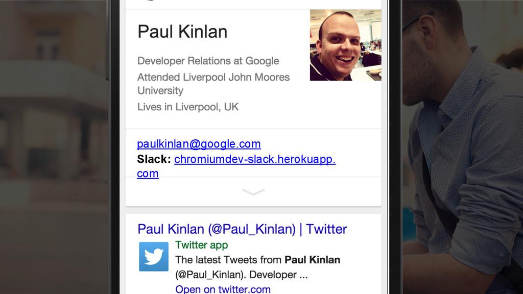 paulkinlan@google.com Slack: chromiumdev-slack....